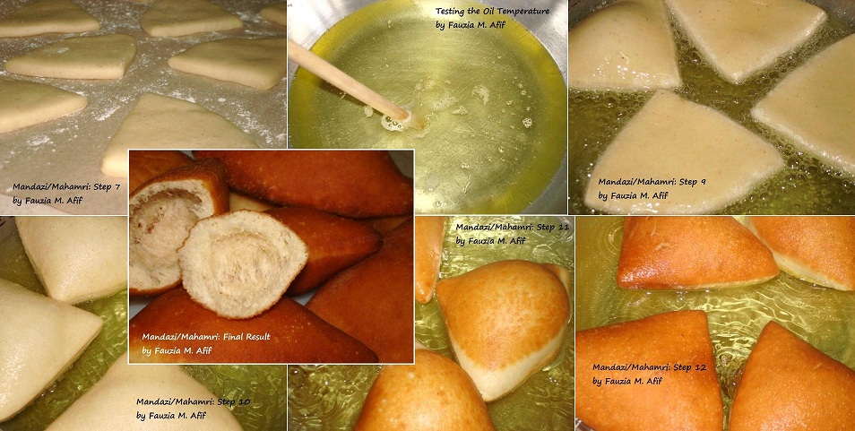 Coconut Mandazi Mahamri Step By Step Fauzia S Kitchen Fun