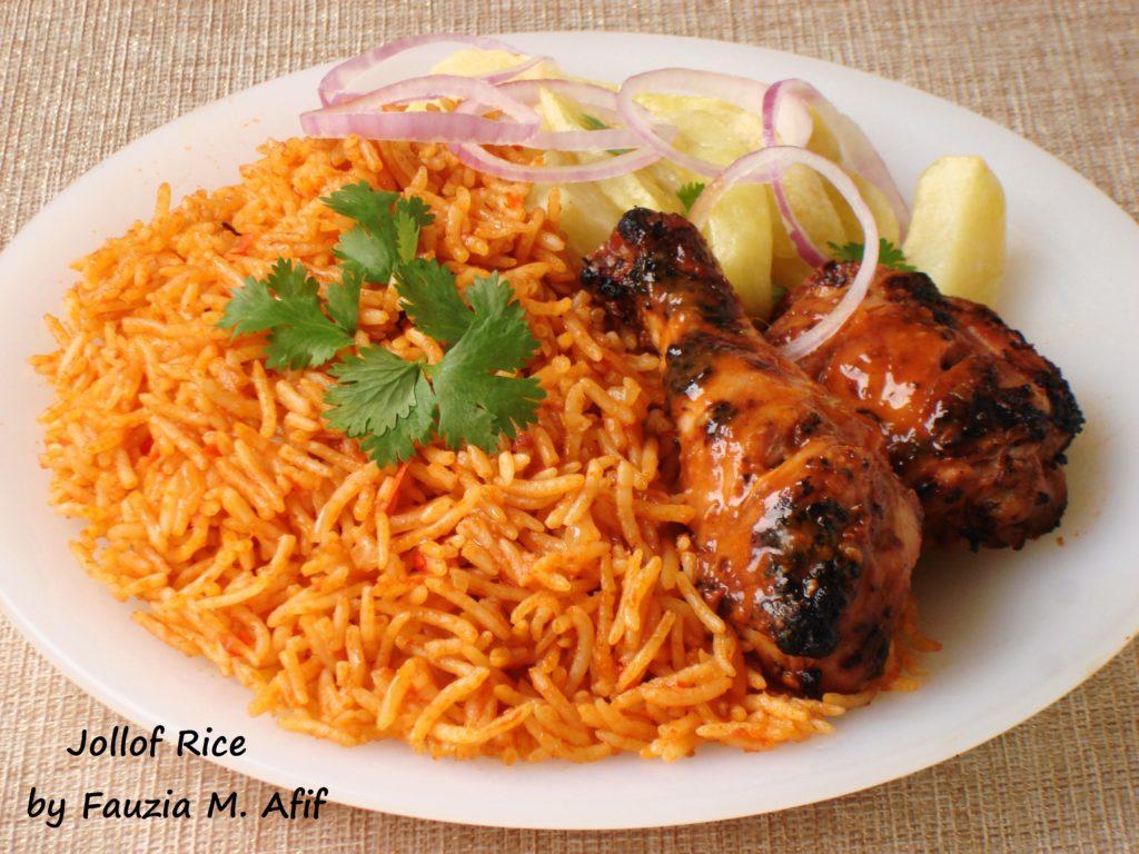 Jollof Rice - Fauzia's Kitchen Fun