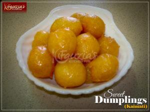 Sweet Dumplings/Kaimati