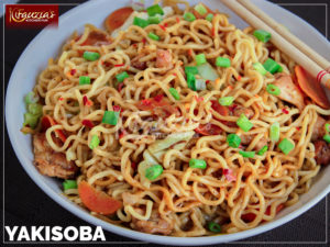 Yakisoba (Japanese Stir-Fry Noodles)